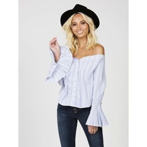 🌵Host Pick 🌵New Free People Off the Shoulder Top